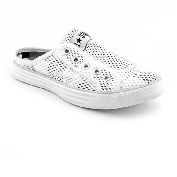 08d8ade22c58 Converse Shoes - 💥Converse All Star Chuck it white mesh slip ons
